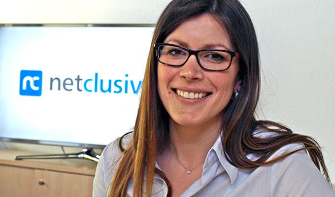 Ausbildung als Mittel gegen Fachkräftemangel - Kristine Sajzewa, Leiterin Customer Service bei netclusive, engagiert sich.
